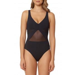BLEU by Rod Beattie Strappy Back One-Piece Swimsuit