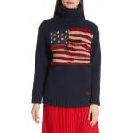 Fringe Flag Wool Sweater