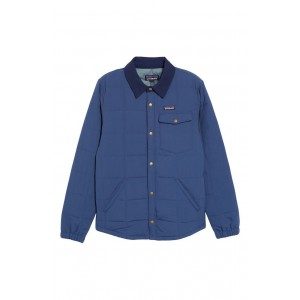 Wind & Water Resistant Quilted Shirt Jacket
