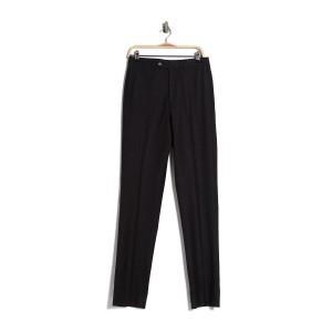 Charcoal Solid Regent Fit Suit Separates Trousers - 30-34 Inseam