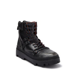 80s Vibe Leather Hiking Boot
