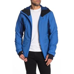 Colorblock Hybrid Primaloft Hooded Jacket