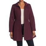 herringbone quilted jacket