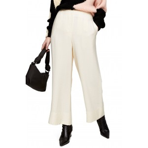 Aida Stitch Detail Wide Leg Trousers