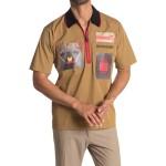 Quarter Zip Short Sleeve Shirt