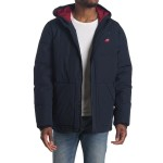 Long Quilted Puffer City Parka Jacket