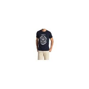 Shield Wreath Graphic Print T-Shirt
