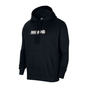 Just Do It Logo Knit Hoodie