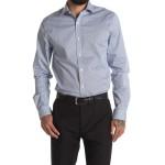 Micro Geo Print Slim Fit Shirt