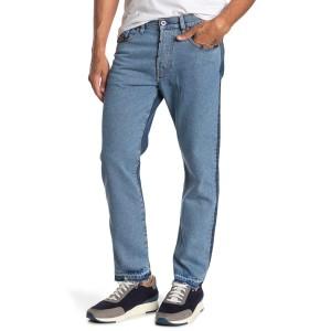 Mharky Contrast Straight Leg Jeans