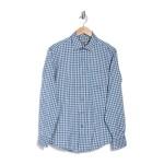 Patterned Performance Long Sleeve Sport Shirt