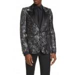 Double Breasted Silk Tuxedo Jacket