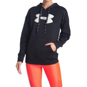 Synthetic Fleece Chenille Logo Hoodie