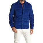 Corduroy Button Down Jacket