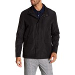 Packable Button Zip Front Jacket