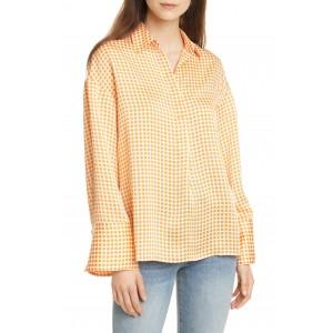 Gingham Popover Pocket Shirt