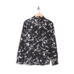 Spinner Tie Dye Printed Flannel Regular Fit Shirt