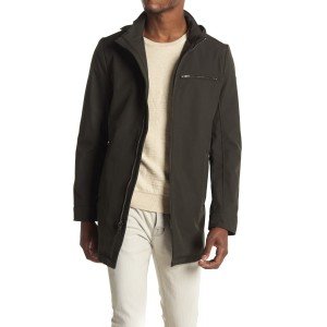 Funnel Neck Zip Soft Shell Jacket