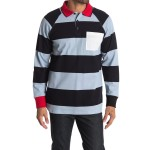 Barford Rugby Stripe Polo Shirt