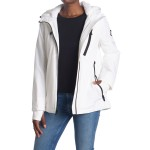 Plush Lined Zip Front Hooded Jacket
