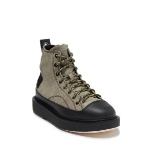 Cage Lace-Up Boot