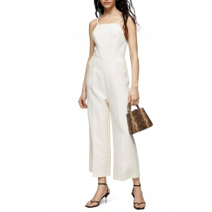 Strappy Back Wide Leg Jumpsuit