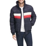 Stand Collar Quilted Ski Bomber Jacket