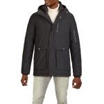 Textured Hooded Parka Jacket