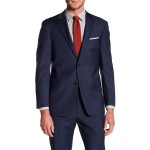 Adams Modern Fit TH Flex Performance Wool Blend Sharkskin Suit Separates Jacket