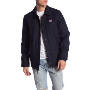 Faux Fur Varsity Jacket