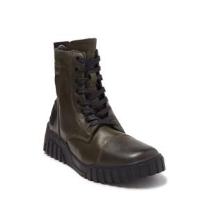 Le Rua Leather Lace-Up Boot