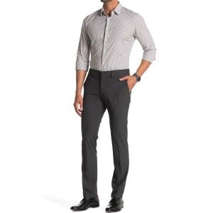Stretch Plain Weave Slim Fit Flex Dress Pants