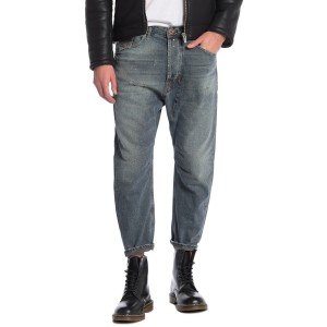 Narrot Distressed Straight Leg Jeans