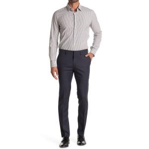 Micro Check Houndstooth Skinny Dress Pant