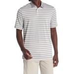 Aero Striped Golf Polo