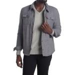 Faux Shearling Lined Shirt Jacket