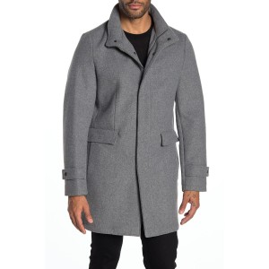 Dorian Funnel Neck Coat