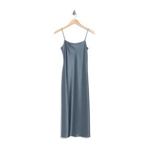 Telson Flat Sateen Slip Dress