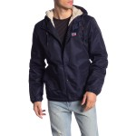Faux Fur Lined Water Resistant Hooded Jacket