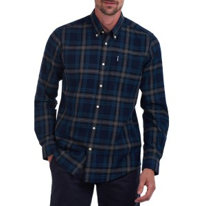 Southill Plaid Tailored Fit Dress Shirt