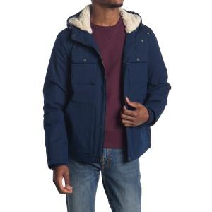 Hooded Woodsman Faux Shearling Jacket