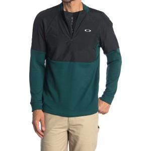 Bimaterial Fleece Half Zip Jacket
