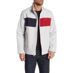 Colorblock Zip Front Jacket