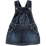 Ruffle-Bottom Denim Skirtalls for Baby