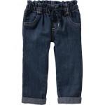 Lightweight Pull-On Jeans for Toddler Girls
