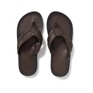 Faux-Leather Sandals