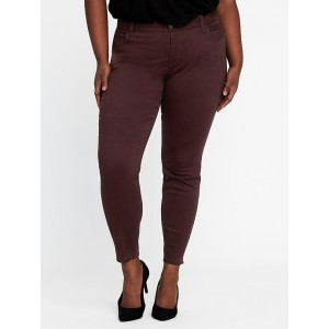High-Rise Secret-Slim Pockets Plus-Size Sateen Rockstar Jeans