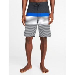 Built-In Flex Printed Board Shorts for Men - 10-inch inseam