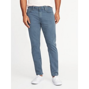 Relaxed Slim Built-In Flex Max Twill Five-Pocket Pants for Men