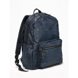 Camo-Print Backpack for Men